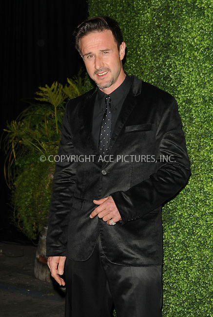 WWW.ACEPIXS.COM . . . . . ....February 10 2011, Los Angeles....Actor David Arquette arriving at the 7th annual Peapod benefit concert at the Music Box Theatre on February 10, 2011 in Hollywood, CA....Please byline: PETER WEST - ACEPIXS.COM....Ace Pictures, Inc:  ..(212) 243-8787 or (646) 679 0430..e-mail: picturedesk@acepixs.com..web: http://www.acepixs.com