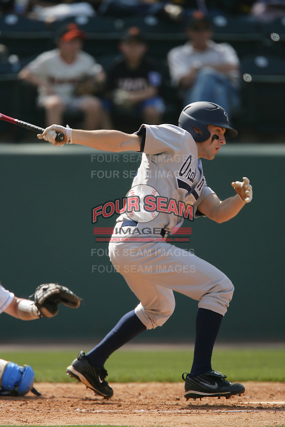 March 20, 2010: Joey Winiecki (11) of Oral Roberts during game against UCLA at UCLA in Los Angeles,CA.  Photo by Larry Goren/Four Seam Images