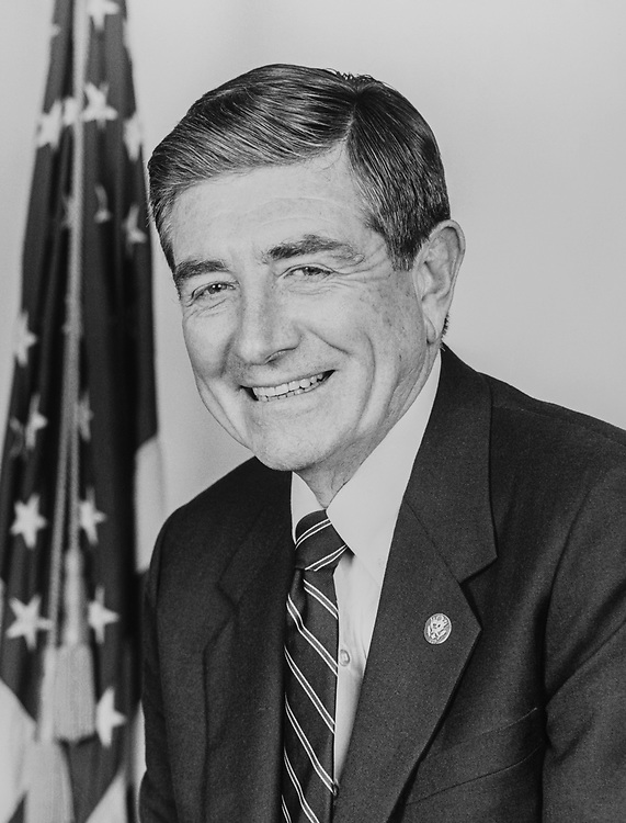 Rep. Al McCandless, R-Calif. in, 1986. (Photo by CQ Roll Call)