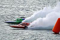 "Mike Monahan, GP-79 ""Bad Influence"" and Brandon Kennedy, GP-25 ""EMS Survior"" (Grand Prix Hydroplane(s)"
