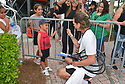 DELRAY BEACH, FL - NOVEMBER 23: Gavin Rossdale signs autographs during the 30TH Annual Chris Evert Pro-Celebrity Tennis Classic - Day 2 at the Delray Beach Tennis Center on November 23, 2019 in Delray Beach, Florida.  ( Photo by Johnny Louis / jlnphotography.com )