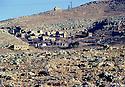 Turkey 1997 .In Tour Abdin, a deserted Yezidi village.Turquie 1997.Un village yezidi abandonne dans la region de Tour Abdin