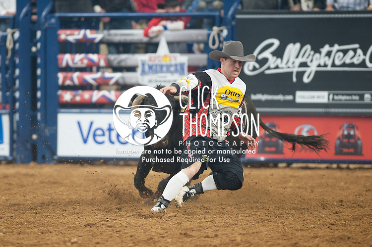 Nate Jestes during the RFD-TV's The American - Presented by Polaris Ranger. Photo by Christopher Thompson