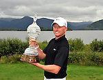 Simon Dyson from England winner of the Irish Open Golf Championship at Killarney Golf Club on Sunday.<br /> Picture by Don MacMonagle