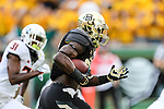 Baylor Bears running back Terence Williams (22) in action during the game between the Oklahoma State Cowboys and the Baylor Bears at the McLane Stadium in Waco, Texas.