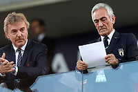 Zbigniew Boniek, head of the Polish Football Association,  Gabriele Gravina, president of Italian football federation FIGC <br /> Bologna 19/06/2019 Stadio Renato Dall'Ara  <br /> Football UEFA Under 21 Championship Italy 2019<br /> Group Stage - Final Tournament Group A<br /> Italy - Poland <br /> Photo Cesare Purini / Insidefoto