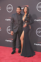 10 July 2019 - Los Angeles, California - Ciara, Russell Wilson.  The 2019 ESPY Awards held at Microsoft Theater. Photo Credit: PMA/AdMedia
