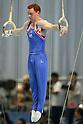 Purvis Daniel (GBR), July 2, 2011 - Artistic Gymnastics : Purvis Daniel performs on the rings during the Japan Cup 2011 at Tokyo Metropolitan Gymnasium, Tokyo, Japan. (Photo by Yusuke Nakanishi/AFLO SPORT) [1090]