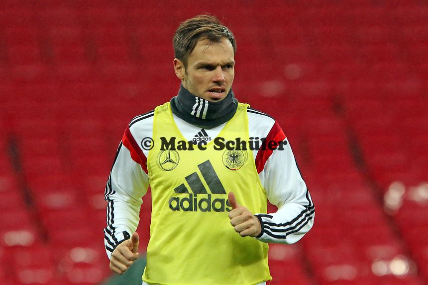 Heiko Westermann (D) - Abschlusstraining der Nationalmannschaft im Wembley Stadium
