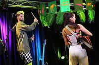 BALA CYWYD, PA - NOVEMBER 20 :  Sofi Tukker visit Radio 104.5 performance studio in Bala Cynwyd, Pa on November 20, 2017   Credit:  Star Shooter / MediaPunch /NortePhoto.com