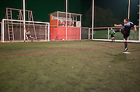 Futbol, football final Tintorera league with Federico, Eduardo, Arturo and Bobby.  Constituyentes, Mexico DF