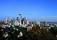 The Seattle skyline. Seattle, Washington.
