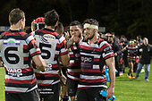 Sam Henwood. Mitre 10 Cup rugby game between Counties Manukau Steelers and Auckland played at ECOLight Stadium, Pukekohe on Saturday August 19th 2017. Counties Manukau Stelers won the game 16 - 14 and retain the Dan Bryant Memorial trophy.<br /> Photo by Richard Spranger.