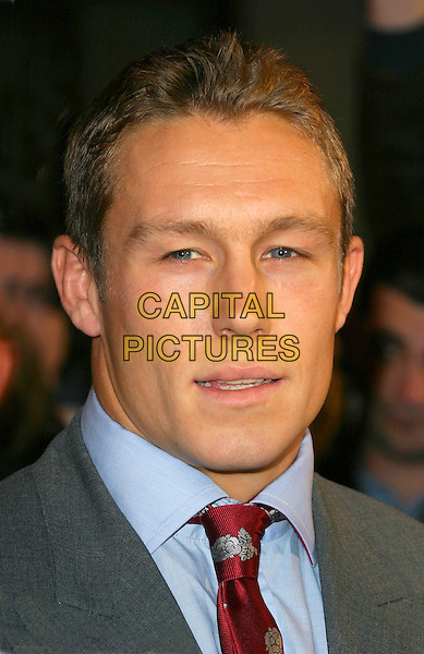 JOHNNY WILKINSON.BBC Sports Personality Of The Year 2003. BBC Woodlane Television Centre, London.14Tth December 2003.Ref: Ten.headshot, portrait, Jonny.sales@capitalpictures.com.©Capital Pictures