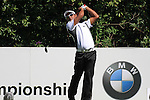 Thongchai Jaidee teeing off ont eh 7th.during round three of the BMW PGA championship 2010 at Wentworth golf club, Surrey England..Picture Fran Caffrey/Newsfile.ie