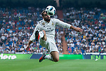 Real Madrid Daniel Carvajal during Santiago Bernabeu Trophy match at Santiago Bernabeu Stadium in Madrid, Spain. August 11, 2018. (ALTERPHOTOS/Borja B.Hojas)