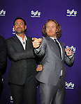 Defiance's Grant Bowler and Tony Curran at SYFY 2013 Upfront Event on April 8, 2013 at Silver Screen Studios, NYC, NY (Photo by Sue Coflin/Max Photos)...................... (Photo by Sue Coflin/Max Photos)