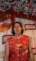 SAO PAULO, SP, 09 FEVEREIRO 2013 - CARNAVAL SP - CAMAROTE BAR BRAHMA - O JOGADOR CASSIO   e vistO no Camarote Brahma durante o primeiro dia de desfiles do Grupo Especial no Sambódromo do Anhembi na região norte da capital paulista, nesta sexta-feira, 08. (FOTO: ALAN MORICI / BRAZIL PHOTO PRESS).