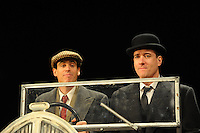 LONDON, ENGLAND - NOVEMBER 05: Stephen Mangan &amp; Matthew Macfadyen  attend a photocall as Jeeves and Wooster in 'Perfect Nonsense' at the Duke Of York's Theatre on November 5th, 2013 in London, England. <br /> CAP/CJ<br /> &copy;Chris Joseph/Capital Pictures