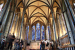 Trinity Chapel in Salisbury Cathedral Church, England, UK