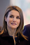 Princess Letizia of Spain during the opening visit of  'Fitur' International Tourism Fair opening at Ifema in Madrid, Spain. January 22, 2014. (ALTERPHOTOS/Victor Blanco)