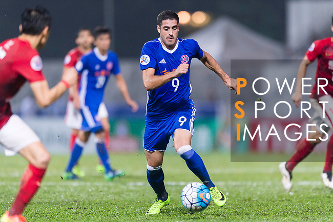Eastern SC Forward Manuel Rodriguez Bleda (C) in action during the AFC Champions League 2017 Group G match between Eastern SC (HKG) vs Guangzhou Evergrande FC (CHN) at the Mongkok Stadium on 25 April 2017, in Hong Kong, China. Photo by Chung Yan Man / Power Sport Images