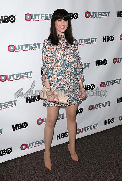 "10 July 2017 - West Hollywood, California - Lena Hall. ""Becks"" 2017 Outfest Los Angeles LGBT Film Festival Screening. Photo Credit: F. Sadou/AdMedia"