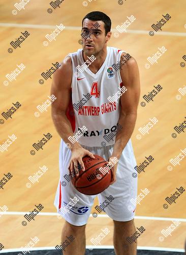 2010-10-05 / Basketbal / seizoen 2010-2011 / Euro Challenge / Antwerp Giants - Minsk / Roel Moors..Foto: Mpics