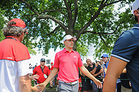 Jordan Spieth (USA) heads to the 10th tee during Saturday's round 3 of the World Golf Championships - Bridgestone Invitational, at the Firestone Country Club, Akron, Ohio. 8/5/2017.<br /> Picture: Golffile | Ken Murray<br /> <br /> <br /> All photo usage must carry mandatory copyright credit (&copy; Golffile | Ken Murray)