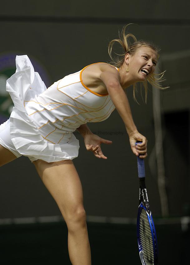Photo. Jed Wee..Wimbledon Championships. 27/06/2005..Maria Sharapova.