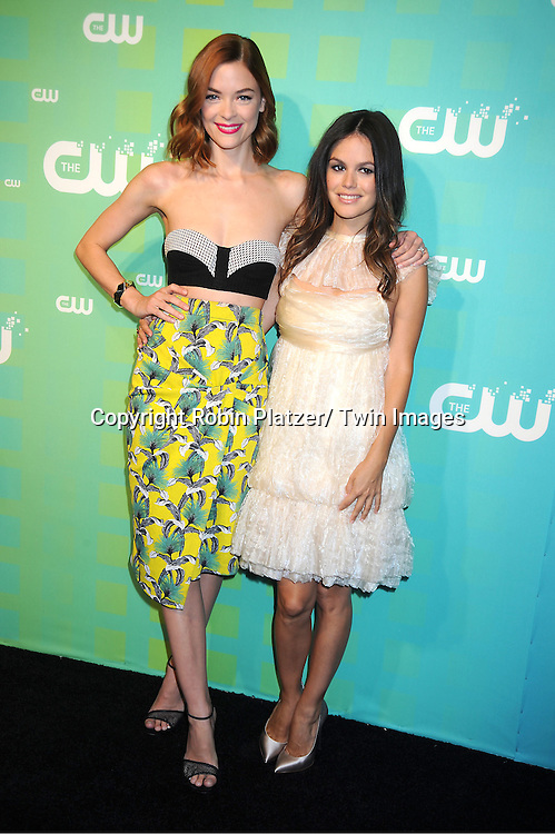 Jaime King and Rachel Bilson attends The CW Network's 2012 Upfront Presentation on May 17, 2012 at New York City Center in New York.