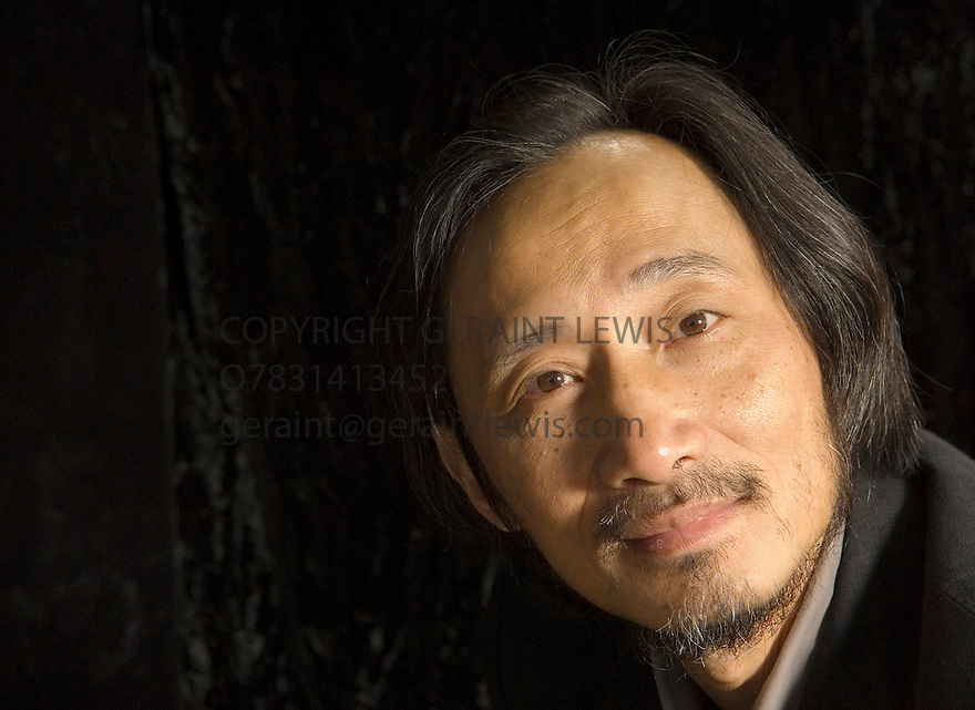 Ma Jian,one of China's most influential writer now living in exile.His book Stick Out Your Tongue was banned in Chinafor its  harsh stories about Tibet.Also wrote the book Red Dust about his travels . CREDIT Geraint Lewis