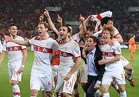 Fussball DFB Pokal 2012/13: VFB Stuttgart - SC Freiburg