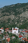 Pedoulas village and the church of Arhangelos Mihail