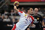 Oussama Boughanmi. TUNISIA vs MONTENEGRO: 27-25 - Preliminary Round - Group A