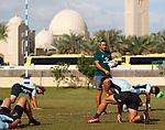 Neil Powell 28 November, Dubai Sevens 2018 at The Sevens for HSBC World Rugby Sevens Series 2018, Dubai - UAE - Photos Martin Seras Lima