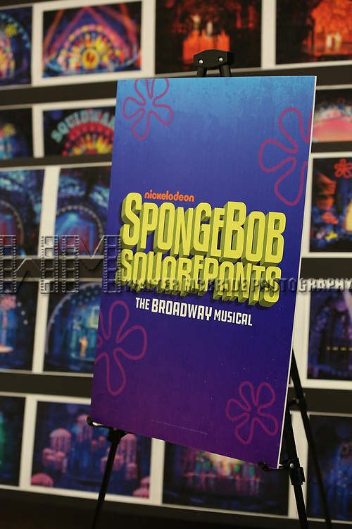 The Rehearsal Press Preview of the New Broadway  Musical on 'SpongeBob SquarePants'  on October 11, 2017 at the Duke 42nd Street Studios in New York City.