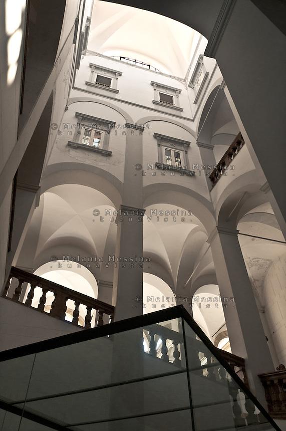 Palermo, Assemblea regionale siciliana, interni.<br /> Palermo,Palazzo dei Normanni,interiors of  the historic building hosting the Sicilian Parliament.