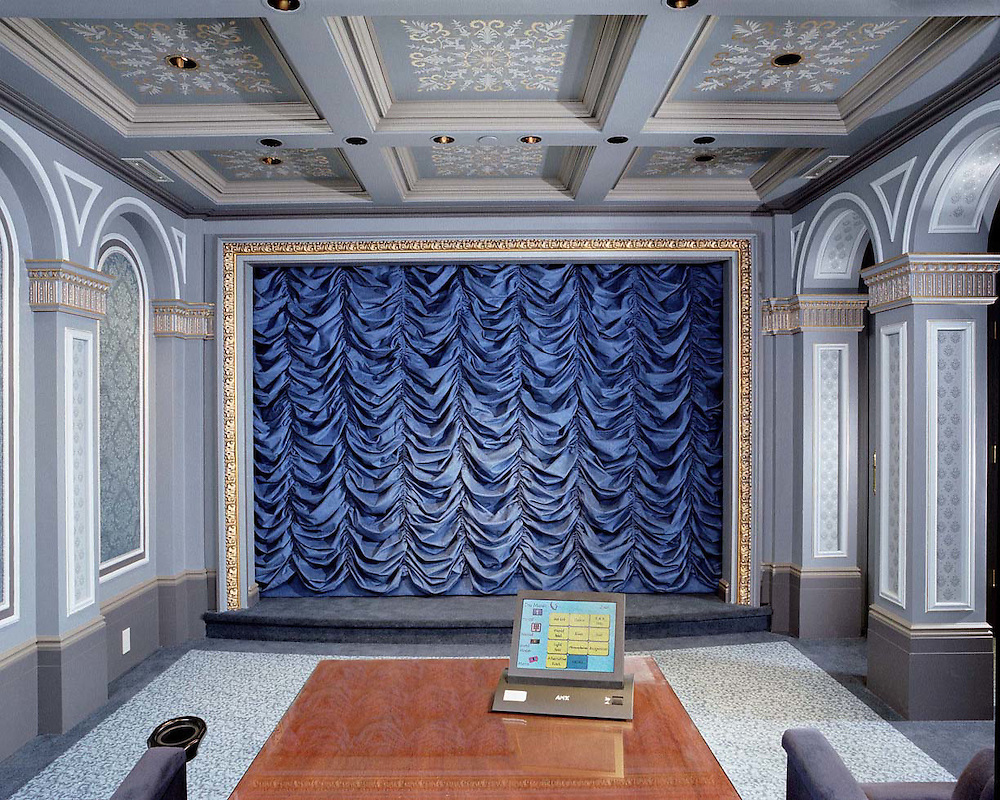 Extensive Home Theater Curtain
