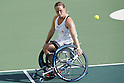 Aniek van Koot (NED),<br /> SEPTEMBER 11, 2016 - Wheelchair Tennis : <br /> Women's Singles Semi-Final<br /> at Olympic Tennis Centre<br /> during the Rio 2016 Paralympic Games in Rio de Janeiro, Brazil.<br /> (Photo by Shingo Ito/AFLO)