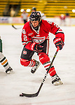25 November 2016: Saint Cloud State Huskie Forward Julia Tylke, a Sophomore from Delafield, WI, in action against the University of Vermont Catamounts at Gutterson Fieldhouse in Burlington, Vermont. The Lady Cats defeated the Huskies 5-1 to take the first game of the 2016 Windjammer Classic Tournament. Mandatory Credit: Ed Wolfstein Photo *** RAW (NEF) Image File Available ***