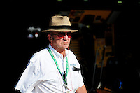 Aug 30, 2008; Fontana, CA, USA; NASCAR Sprint Cup Series team owner Jack Roush during practice for the Pepsi 500 at Auto Club Speedway. Mandatory Credit: Mark J. Rebilas-