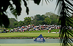 SINGAPORE - MARCH 08:  General view of the par tree 8th hole during the final round of HSBC Women's Champions at the Tanah Merah Country Club on March 8, 2009 in Singapore. Photo by Victor Fraile / The Power of Sport Images