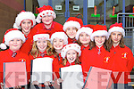 Pupils from Holy Cross, Killarney who performed in the schools Christmas Concert on Friday front row l-r: Julia Buckley, Nicole McCarthy-Angland, Rachel Loughnane, Kate Slatter. Back row: Elizabeth Cronin, Lorna O'Leary, Nessa Casey, Sabina Taddei, Hanna Fuellgraf and Anna Dojnikowska      Copyright Kerry's Eye 2008