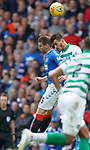 01.09.2019 Rangers v Celtic: Jon Flanagan and Hatem El Hamed clash heads