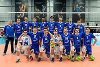 GRONINGEN - Volleybal, Abiant Lycurgus - Noriko Maaseik, Alfa College , Champions League , seizoen 2017-2018, 08-11-2017 team Lycurgus