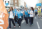 The Start of the Parade to officially start the Special Olympics in Limerick over the Next 3 Days.<br /> Picture  Credit Brian Gavin Press 22