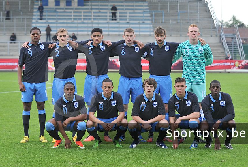Belgium U19 - England U19 : Team England.foto DAVID CATRY / Nikonpro.be