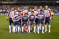 CD Guadalajara Starting XI in the first leg of the 2007 CONCACAF Champions' Cup Semifinal match between DC United and CD Chivas from Guadalajara. DC United tied Chivas 1-1 on March 15, 2007 at RFK Stadium in Washington DC.