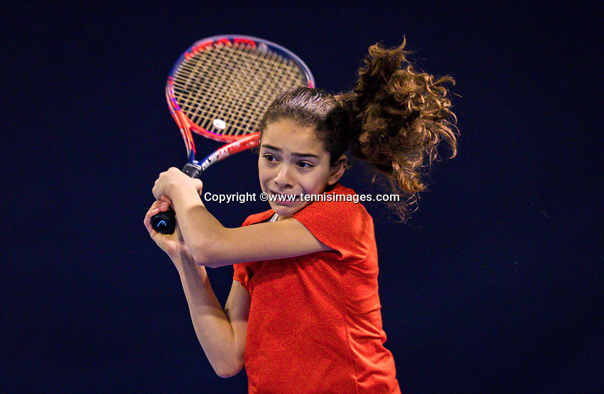 Hilversum, Netherlands, December 2, 2018, Winter Youth Circuit Masters, Lina Ilahi (NED)<br /> Photo: Tennisimages/Henk Koster